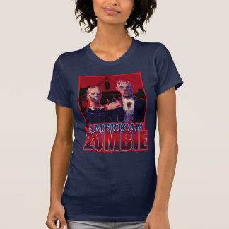 Zombie American Gothic T-shirts