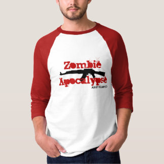Zombie Apocalypse AK47 Equipped T-Shirt
