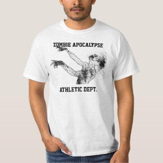 Zombie Apocalypse Athletic Dept. shirt