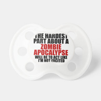 Zombie Apocalypse Baby Pacifiers
