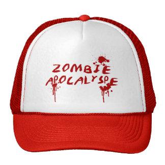 Zombie Apocalypse Baseball Cap - Horror Movie Fan