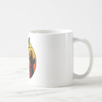 zombie apocalypse basic white mug