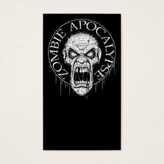 Zombie Apocalypse Business Card