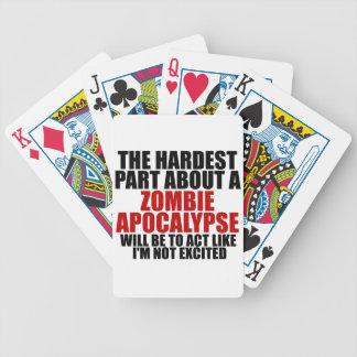 Zombie Apocalypse Card Decks