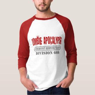Zombie Apocalypse Division 666 T-Shirt