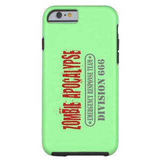 Zombie Apocalypse Division 666 Tough iPhone 6 Case