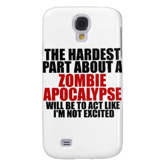 Zombie Apocalypse Galaxy S4 Case