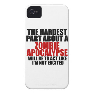 Zombie Apocalypse iPhone 4 Case-Mate Cases