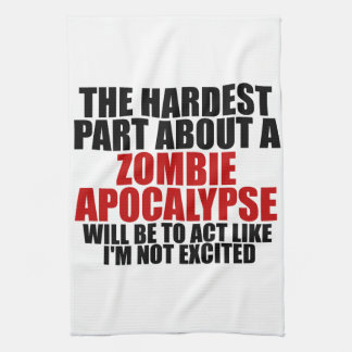 Zombie Apocalypse Kitchen Towels