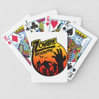 zombie apocalypse poker cards