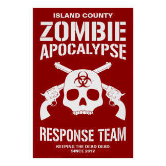Zombie Apocalypse Print