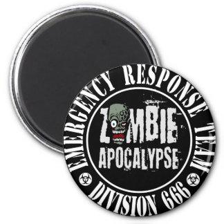 Zombie Apocalypse Response Team Logo Fridge Magnet
