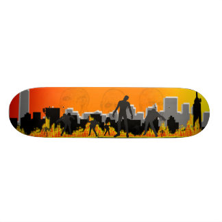 Zombie Apocalypse Skate Board