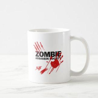 Zombie Assassin Society Basic White Mug