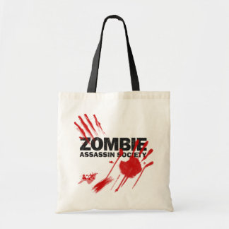 Zombie Assassin Society Budget Tote Bag