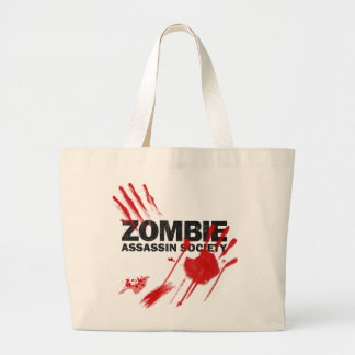 Zombie Assassin Society Canvas Bags