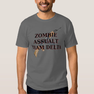 Zombie Assault Team Delta T-shirts