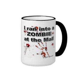 Zombie at the Mall Ringer Mug
