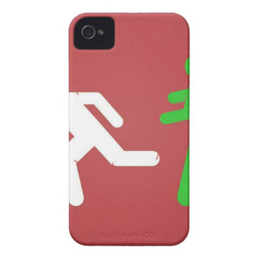 Zombie Attack iPhone 4 Cover