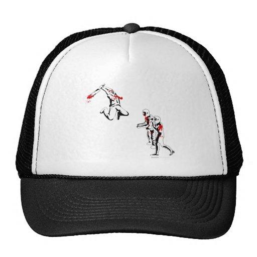 Zombie Attack - Cricket Bat Kill Destroy Shirt Hat