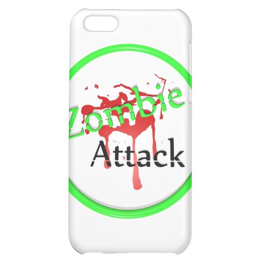 Zombie Attack Cover For iPhone 5C