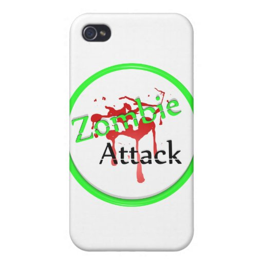Zombie Attack Case For iPhone 4