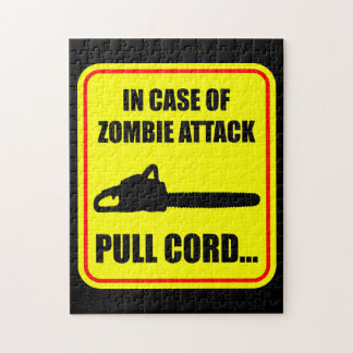 Zombie Attack Jigsaw Puzzle