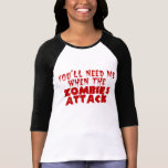 Zombie Attack Shirts