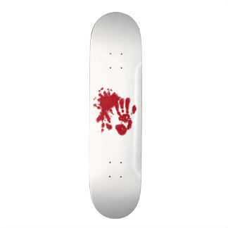 zombie attack skateboard