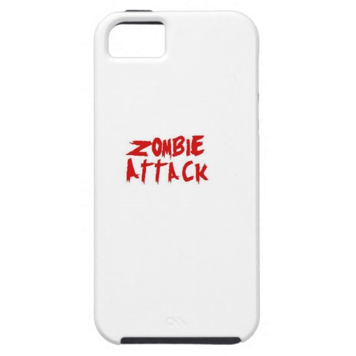 Zombie Attack White iPhone 5/5s cover