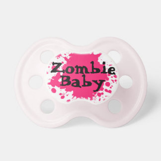 """Zombie Baby"" Girls Pacifier"