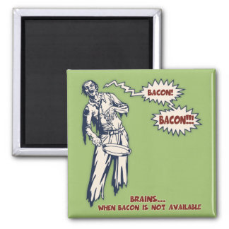 Zombie - Bacon Magnet