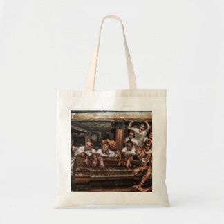 zombie baggy tote bag