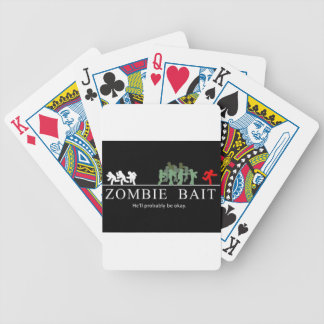 zombie bait bicycle playing cards