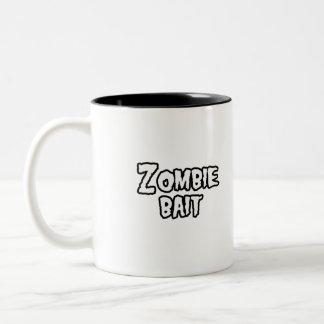 ZOMBIE BAIT - - Halloween Coffee Mug