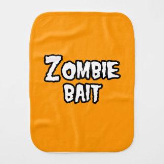 ZOMBIE BAIT - - Halloween Burp Cloths