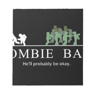 zombie bait notepad