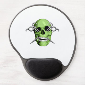 Zombie Barber Gel Mouse Pad