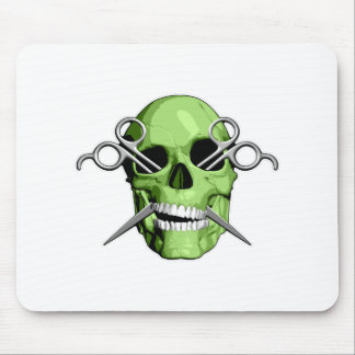 Zombie Barber Mouse Pads