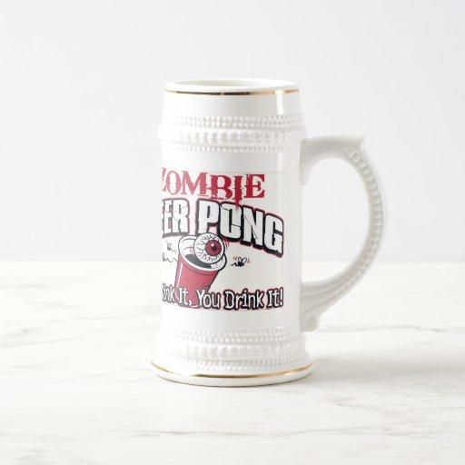Zombie Beer Gift Mug