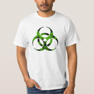 Zombie Bio-Hazard Symbol T Shirts