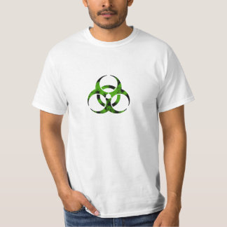 Zombie Bio-Hazard Symbol Tshirts