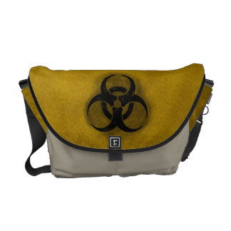 Zombie Biohazard Courier Bags