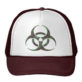 Zombie Biohazard Symbol Cap