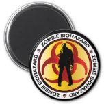 Zombie Biohazard Waste Fridge Magnet
