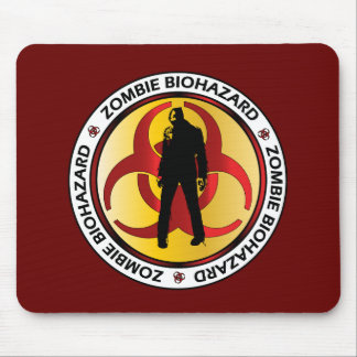 Zombie Biohazard Waste Mouse Pad