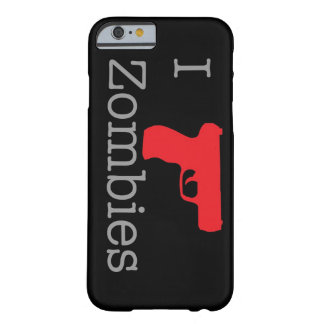 Zombie Black ID Barely There iPhone 6 Case