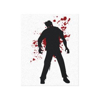 Zombie Blood Canvas Print