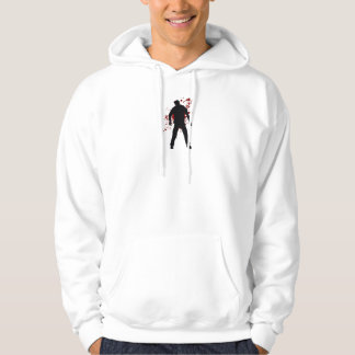 Zombie Blood Hooded Pullover