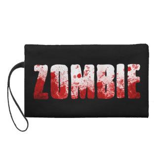zombie blood splatter bag wristlet
